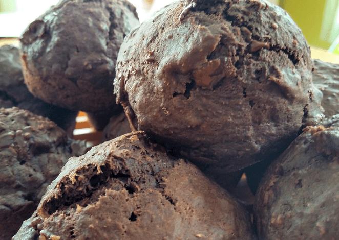 Wacky Vegan Chocolate Muffins