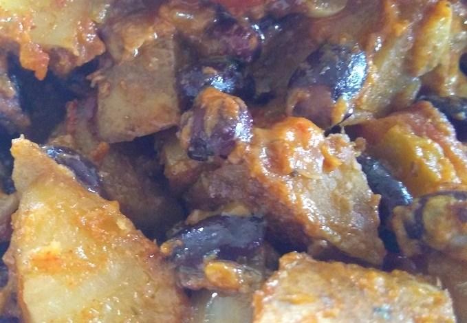Slow Cooker Taco Potatoes
