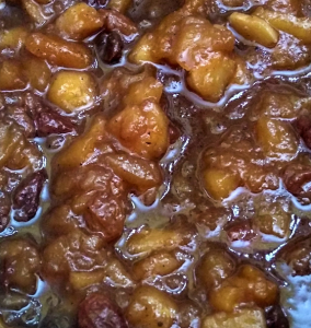 Slow Cooker Mincemeat (vegan)