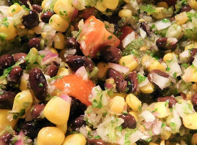 Meatless Monday: Quick Black Bean Salad