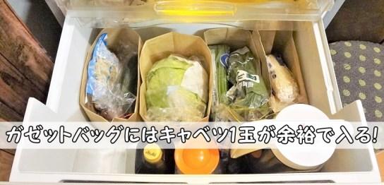 セリアガゼットバッグLL100均野菜室仕切りケース冷蔵庫マルシェ風紙袋折り曲げ方