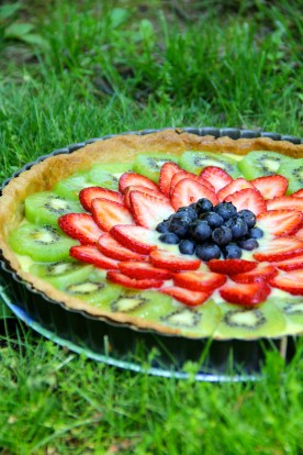 Summer Fruit Tart © KETMALA'S KITCHEN 2012-13