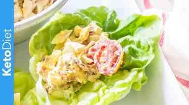 Easy Keto Loaded Egg Salad