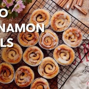 The best keto cinnamon rolls • 1 g of carbs