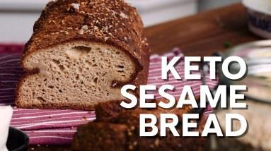Keto sesame bread – Gluten-free recipe!