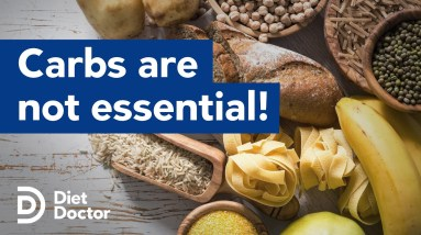 Carbohydrates are NOT essential