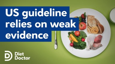 US Dietary Guidelines relies on weak quality evidence