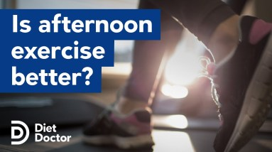Is afternoon exercise best for metabolic health?