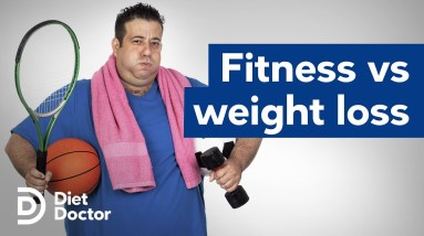 Is fitness more important than weight loss?