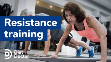 Resistance training improves body composition
