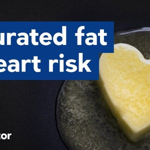 Saturated fat doesn't increase heart risk