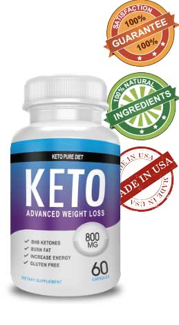 keto pure diet bottle