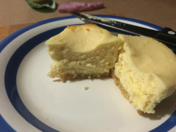 keto low carb mini cheesecake