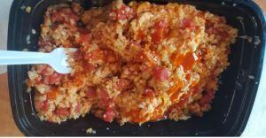 Mexican Chicken Casserole with Spanish Cauliflower Rice