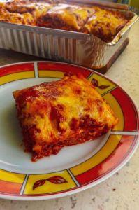 Three-layer Keto Lasagna