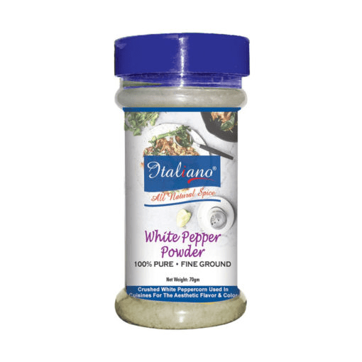 Italiano White Pepper Powder 70gm