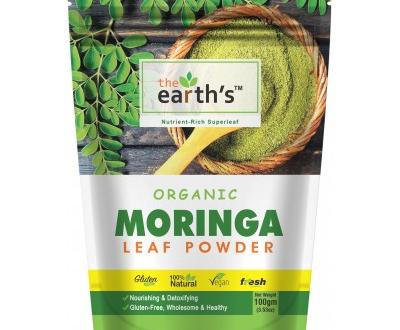 Earth's Moringa Leaf Powder 100gm Price in Pakistan