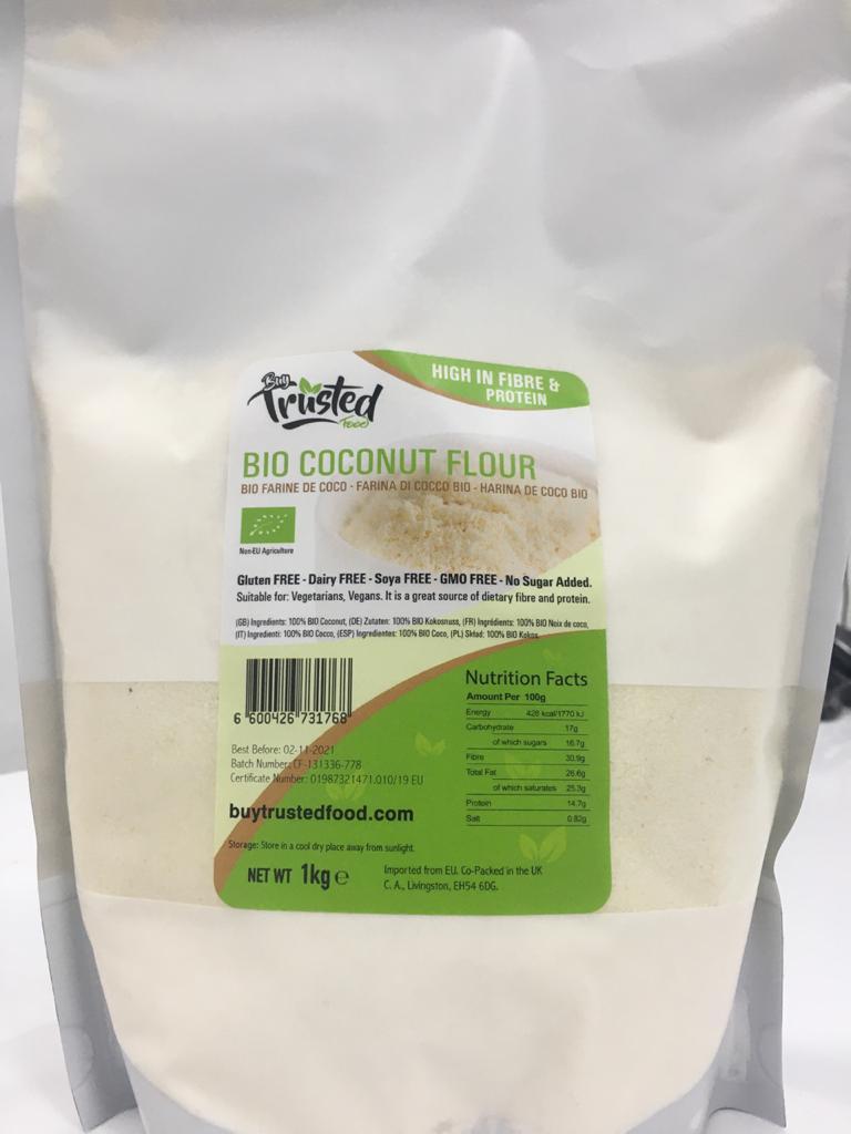 Bio Coconut Flour 1Kg (Buy Trusted Food) Price in Pakistan
