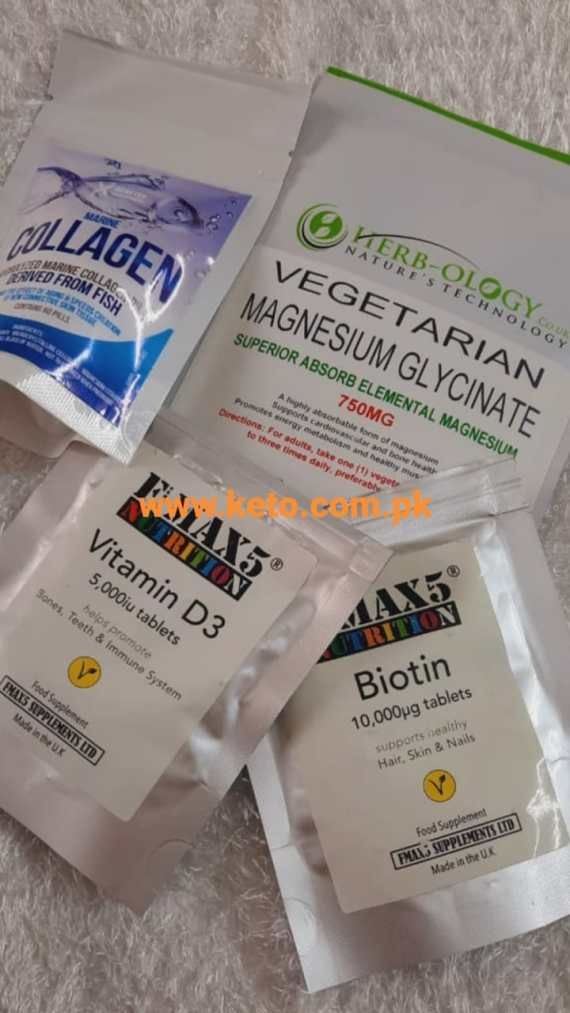 Pack of Four Supplements Price in Pakistan
