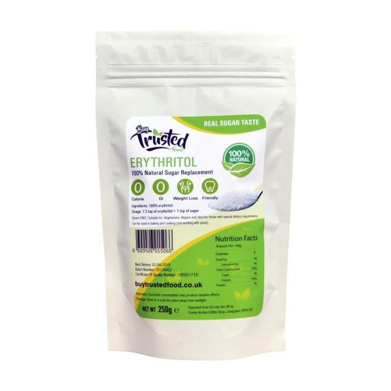 Erythritol 250g – ZERO Calorie 100% Natural Sugar Replacement Price in Pakistan