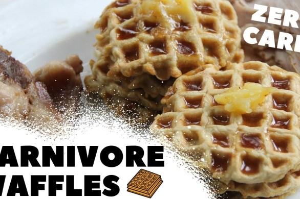 Carnivore Waffles