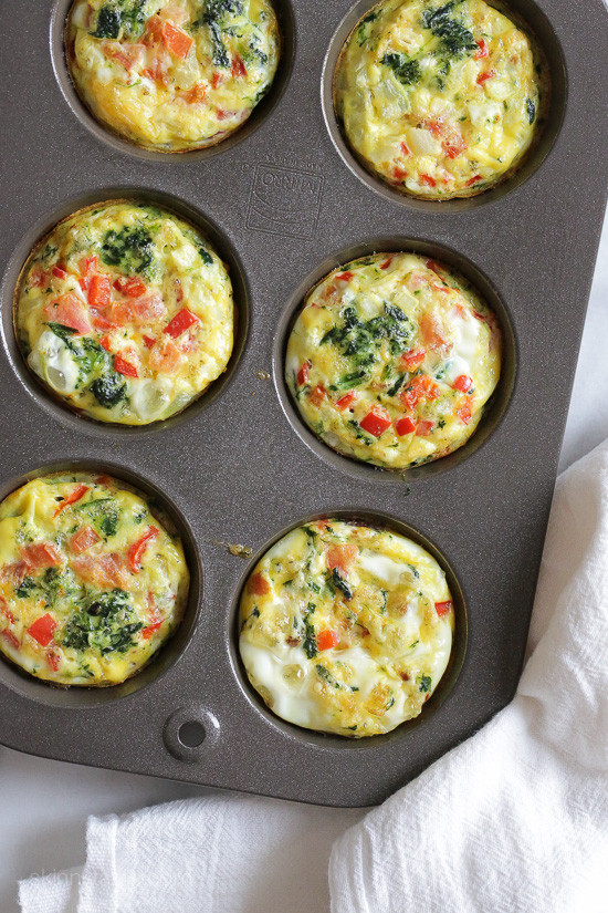 KETO LOADED BAKED OMELET MUFFINS