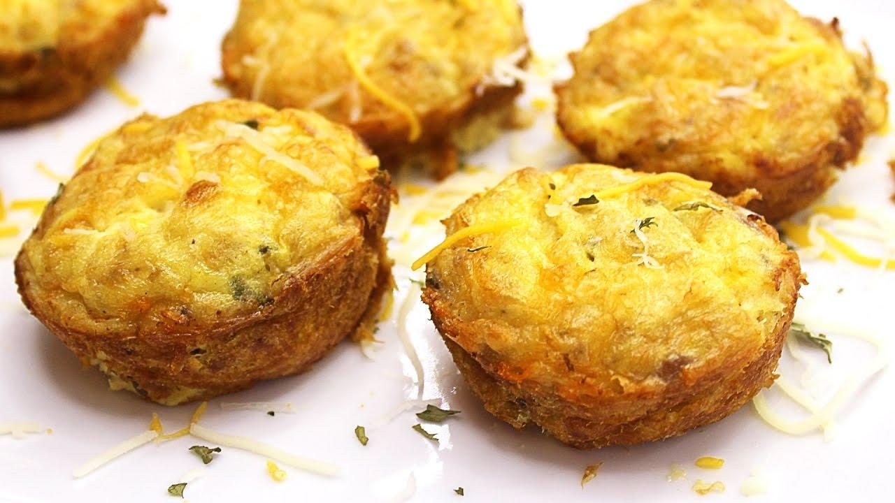 Keto Tuna Melt Muffins