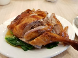 Duck with veges