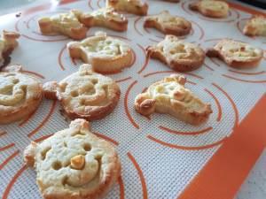 Cute Keto Cookies shaped like winnie the pooh and tigger