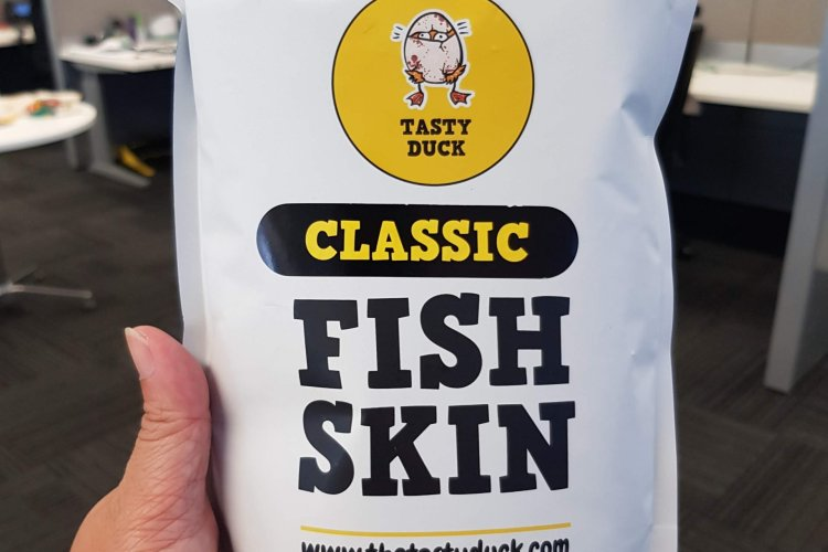 Packet of Classic Fish Skin by Tasty Duck
