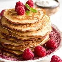 Keto Friendly Cream Cheese Pancakes