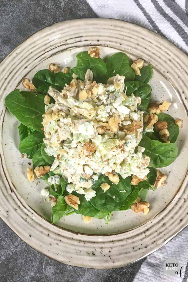 Low Carb Keto Chicken Salad Recipe Ketobasicaf