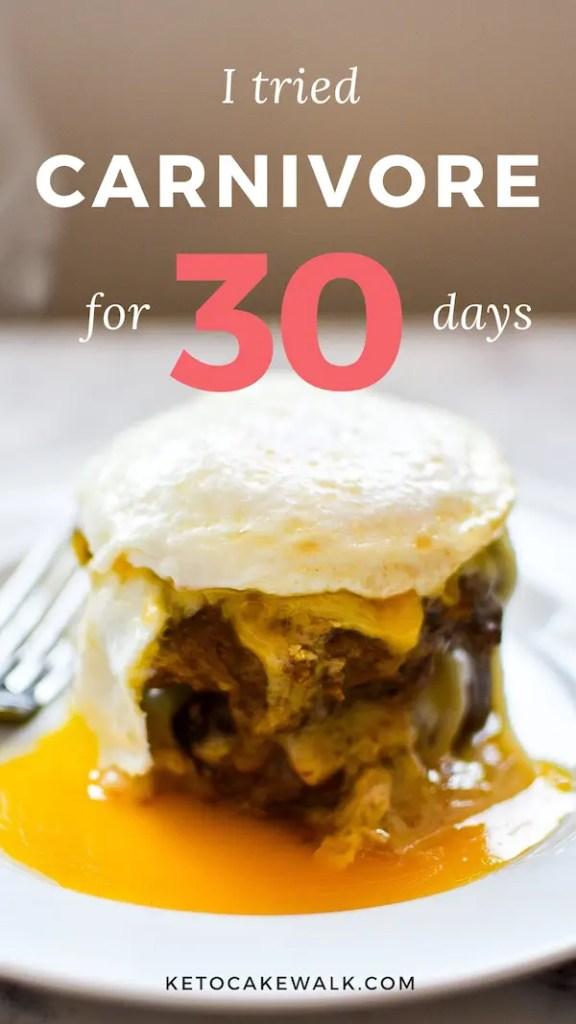 What happened when I ate only animal products for 30 days? #carnivore #keto #diet