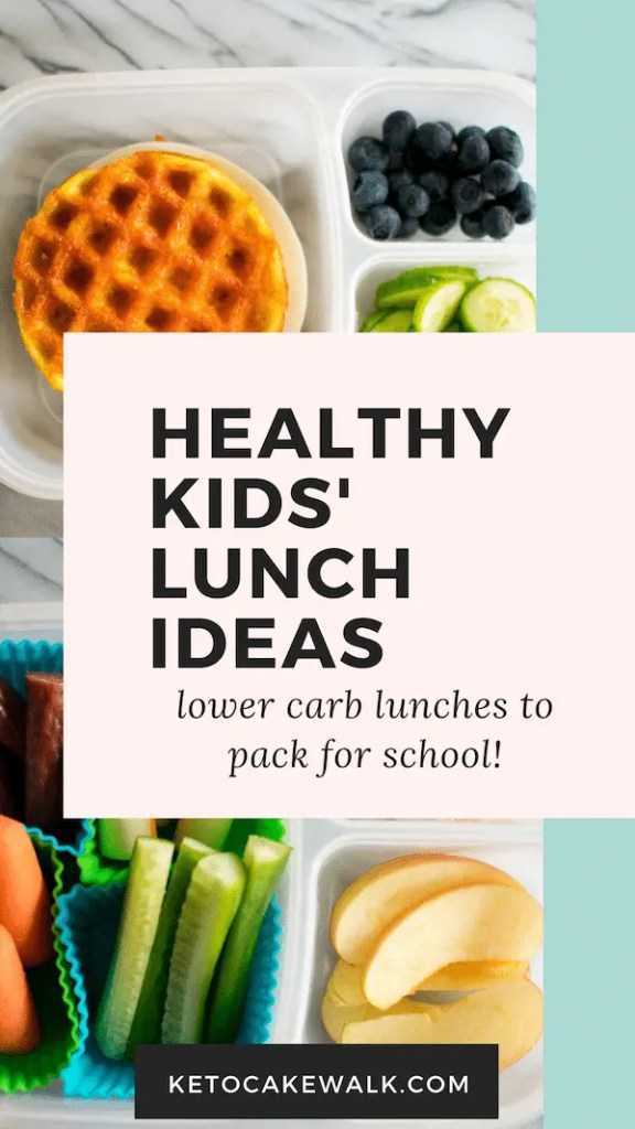 These 7 healthy lunch box ideas are perfect for kids to bring to school and will help them stay focused all day long! #lowcarb #healthy #lunch #ideas #kids #lunchbox #school