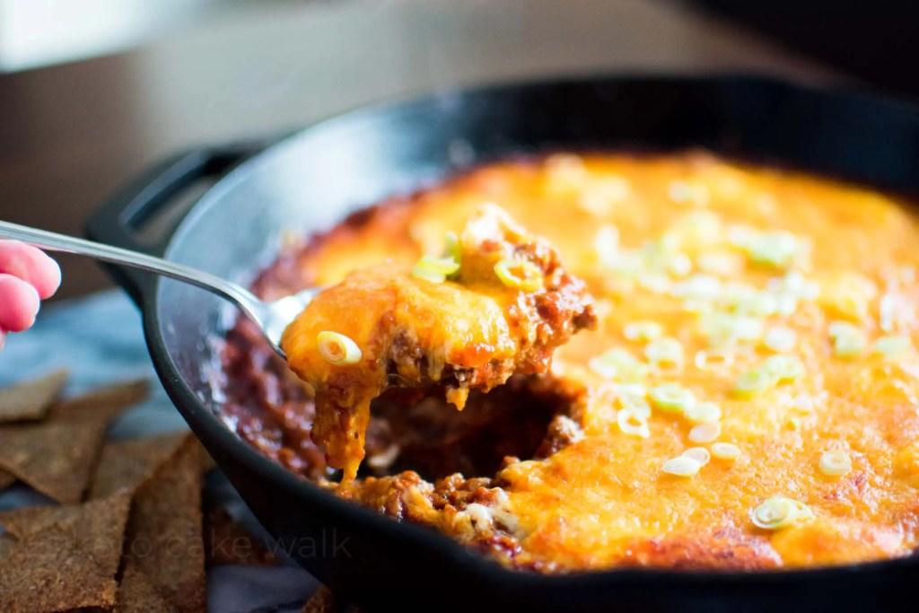 Keto Chili Cheese Dip -keto cake walk-