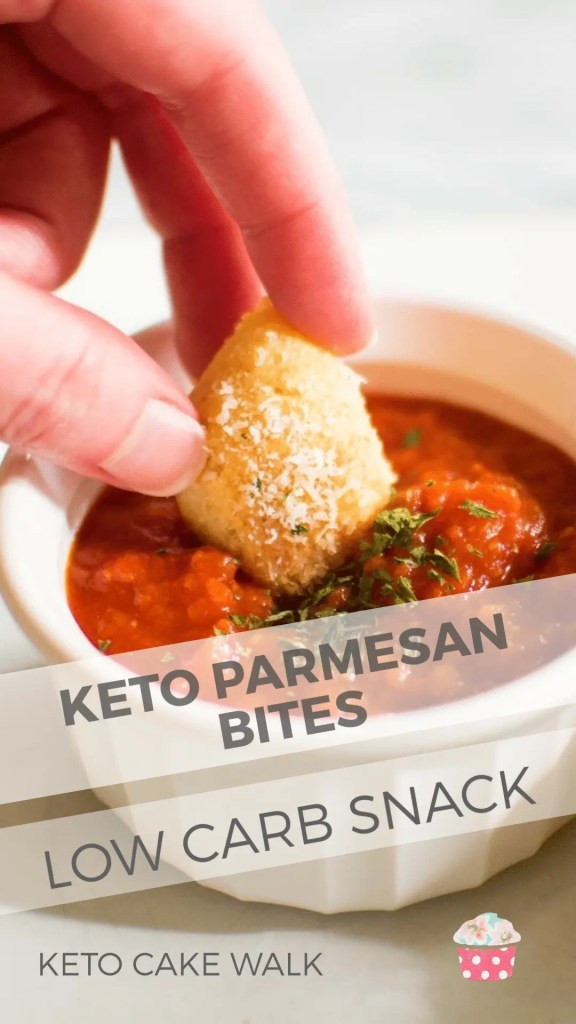 Sometimes you need a warm, bready snack even on keto. These keto parmesan bread bites will hit the spot without kicking you out of ketosis! #keto #lowcarb #bread #bites #parmesan #pizza #fathead #glutenfree #grainfree