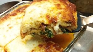 Spicy Keto lasagna