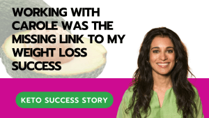 Working With Carole was the Missing Link to My Weight Loss Success