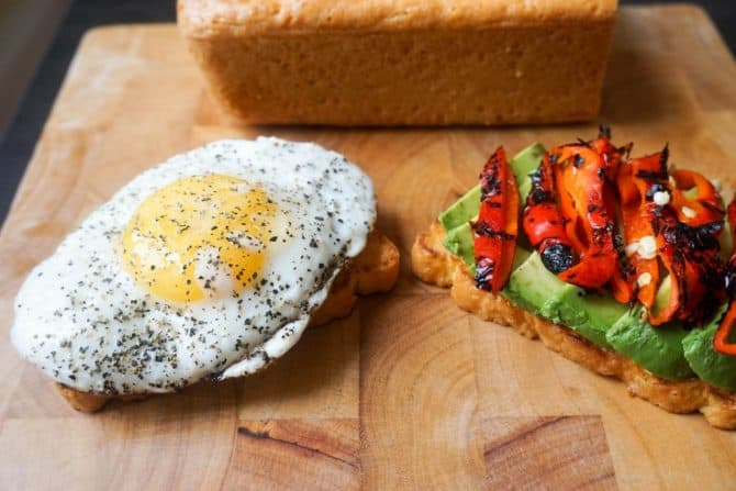 best keto bread avocado toast