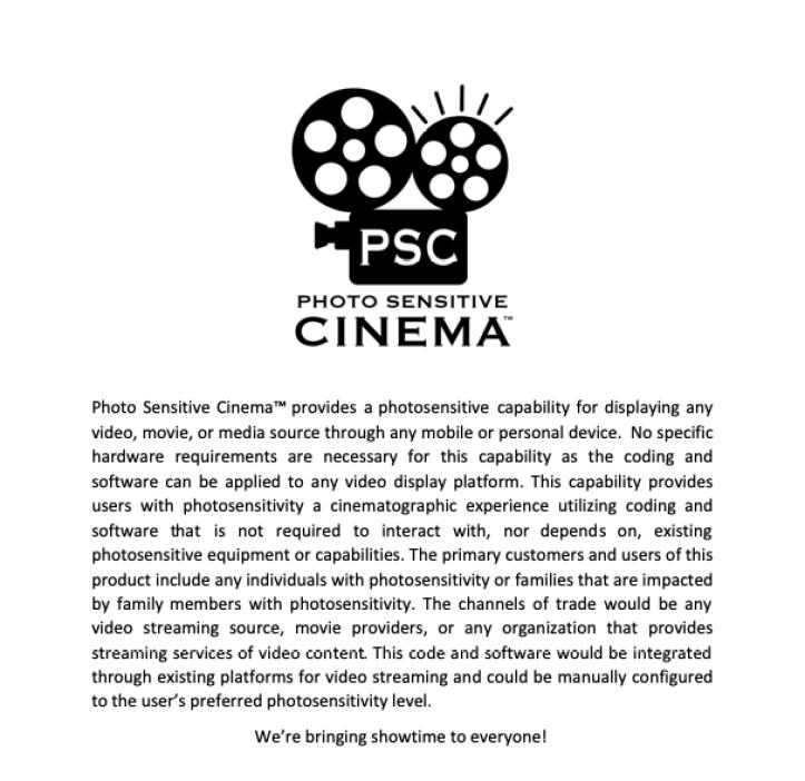 Photo Sensitive Cinema