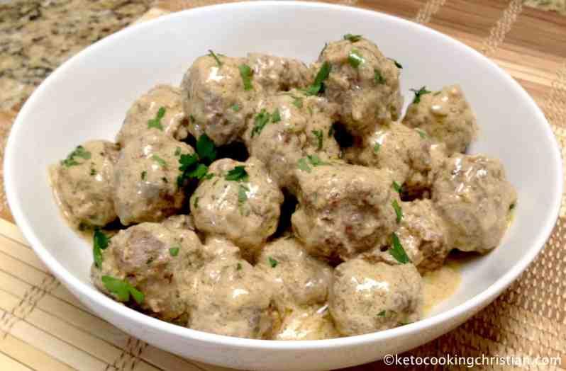 Swedish Meatballs – Keto and Low Carb