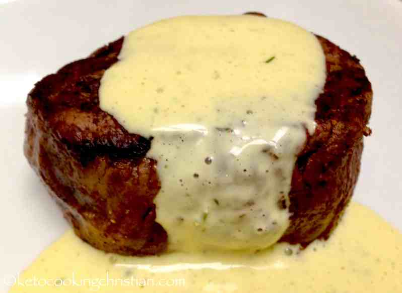 Bearnaise Sauce - Keto and Low Carb