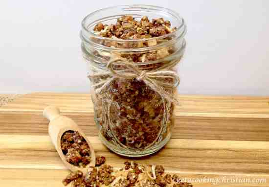 granola cereal keto low carb gluten free