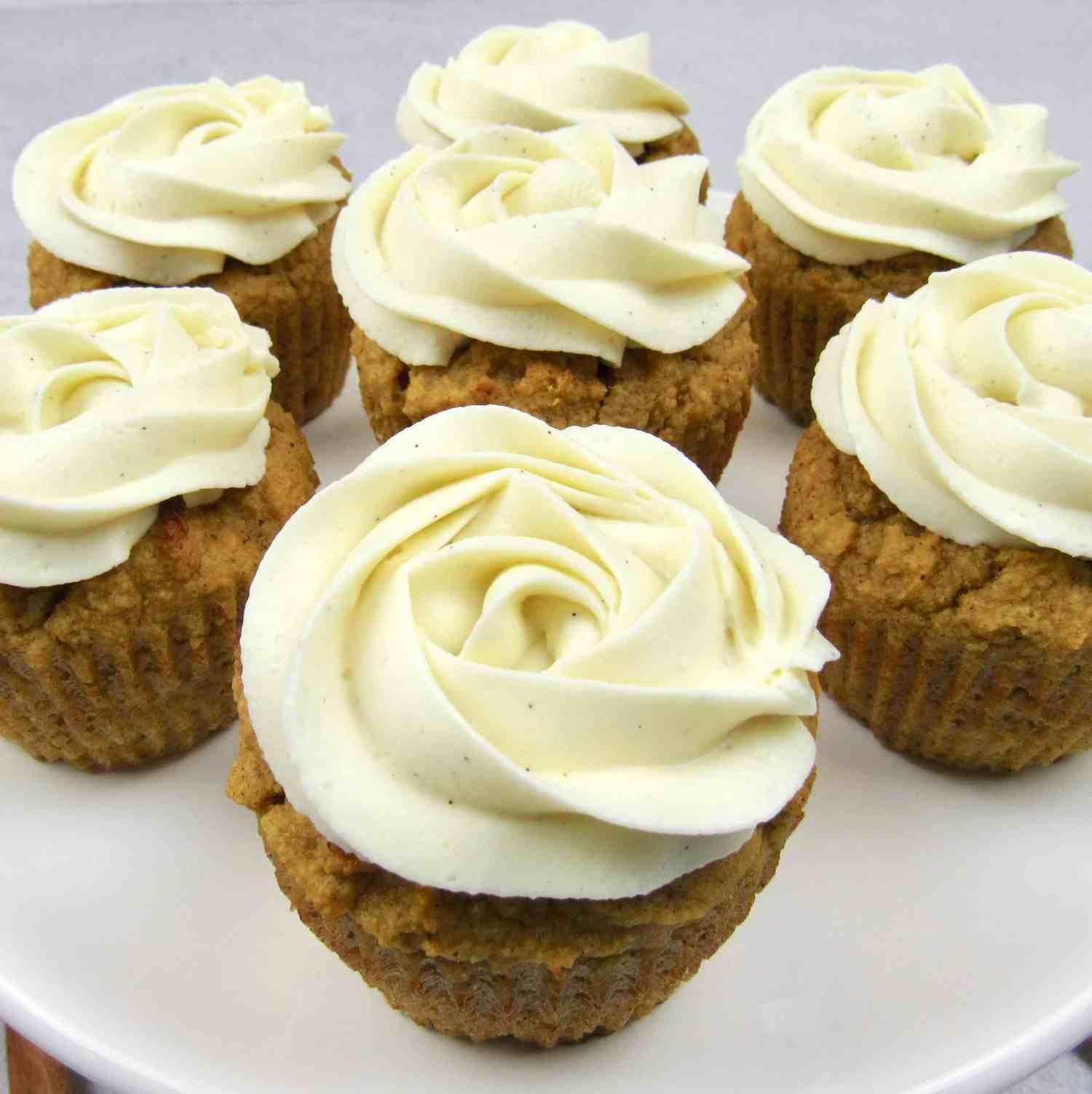 Keto Pumpkin Cream Cheese Cupcakes