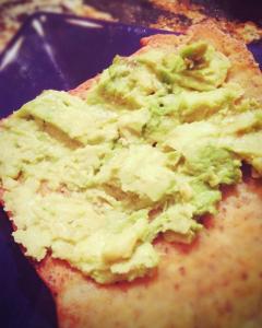 Keto Avocado Toast On Fathead Dough