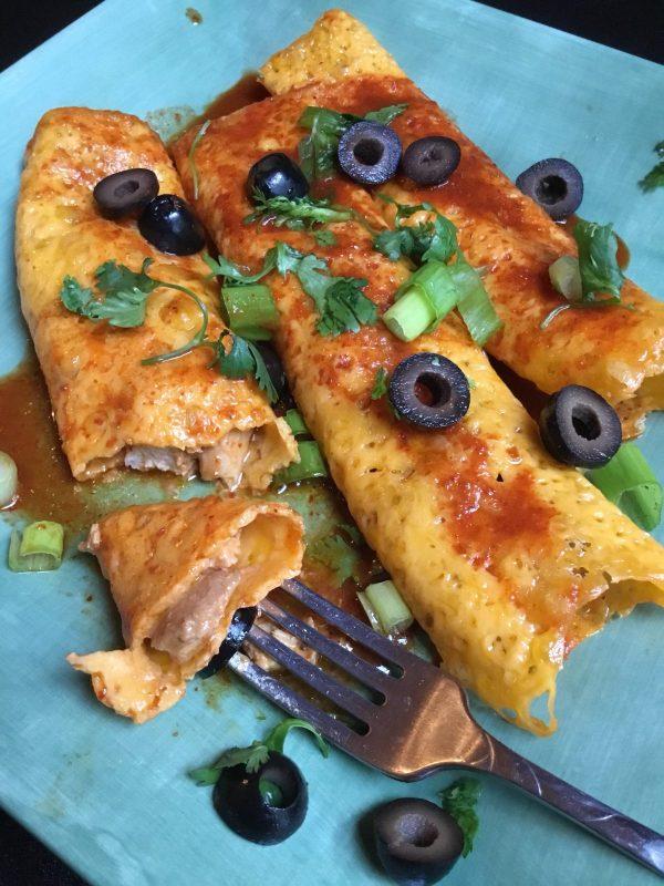 Gluten Free Keto Enchiladas