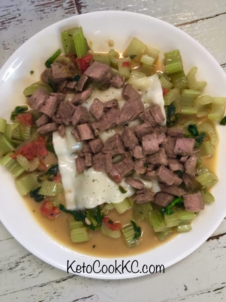 Keto Cheesesteak