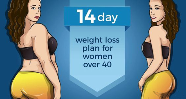 A 14-Day Weight Loss Plan for Women Over 40