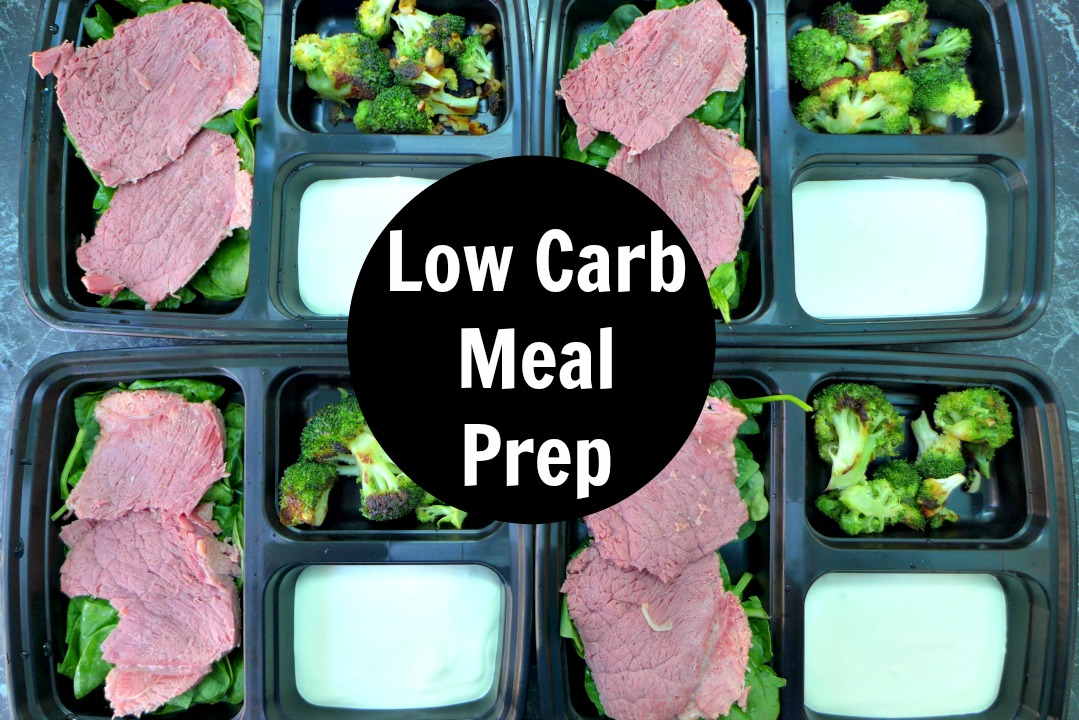 Low Carb Meal Prep For The Week