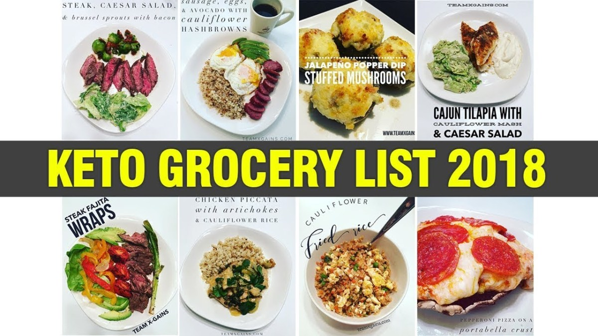 2018 KETO BEGINNER GROCERY LIST